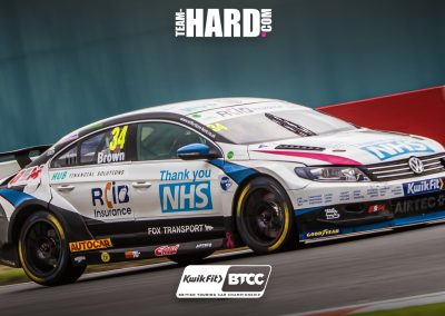Ollie Brown NHS Car - Team HARD