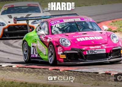 Porsche 911 GT3 Cup car Team HARD