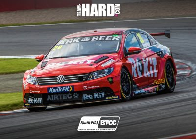 Nic Hamilton Team HARD Racing BTCC