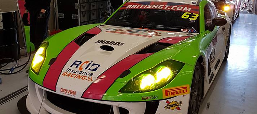 Chris Milford will race in the British GT this weekend at Brands Hatch with Team HARD