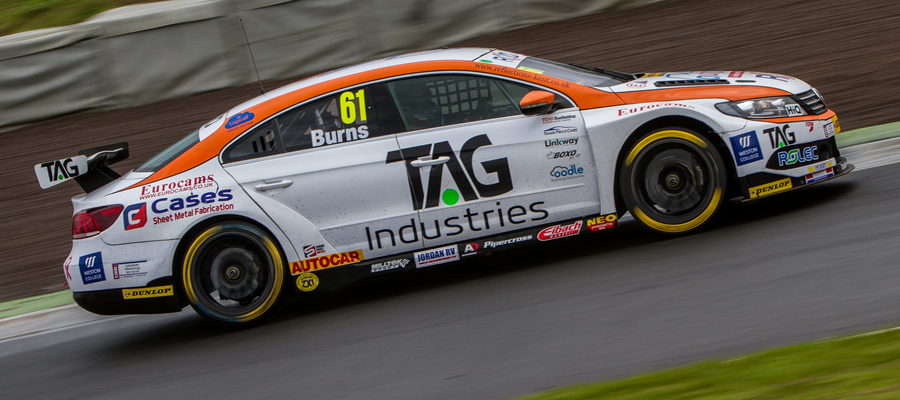 Burns Eager To Bounce Back From Bruising Knockhill