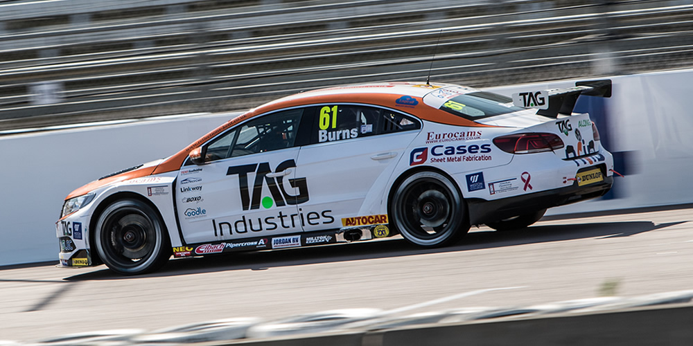 Burns Shows Promise With Battling Rockingham Drives