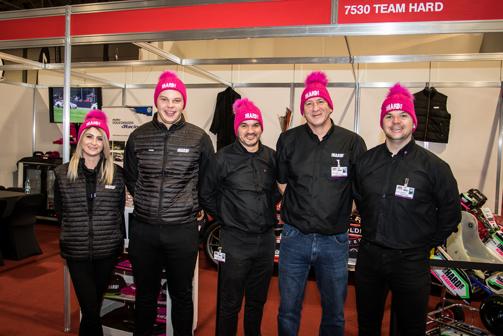 Team HARD at Autosport International