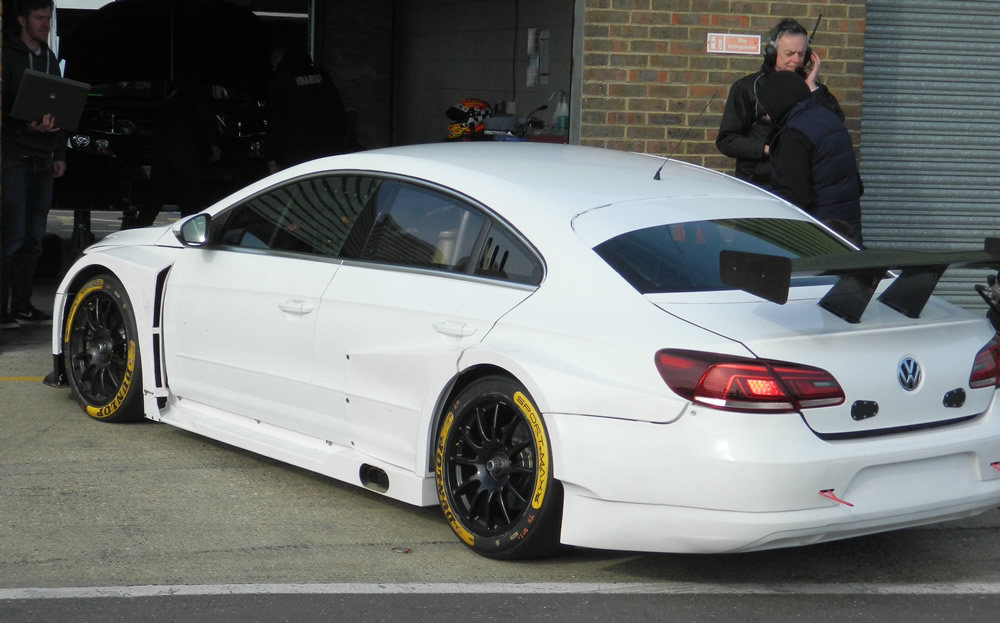 Team HARD VW CC BTCC Car