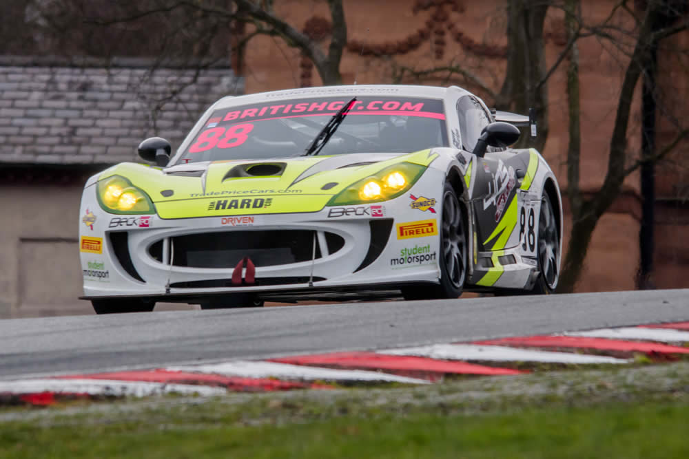 HARD's Benjamin Wallace Pleased With The Opening Weekend For the 2018 British GT Championship