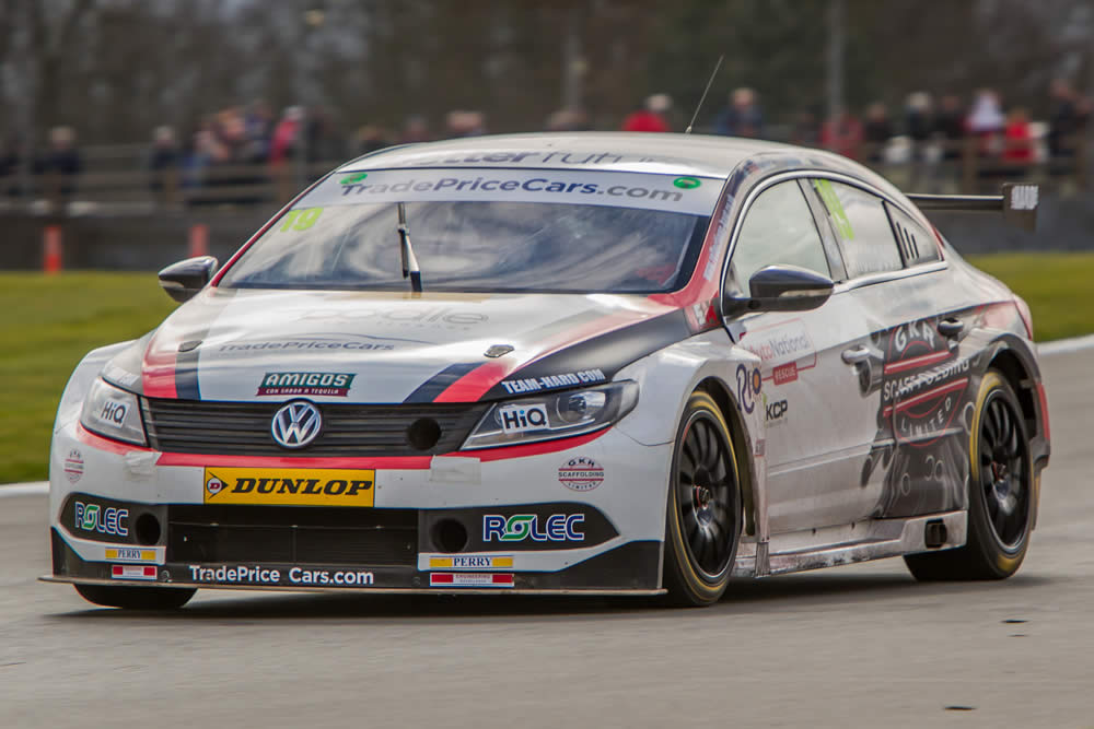 Brands Hatch awaits for BTCC debutant Bobby.