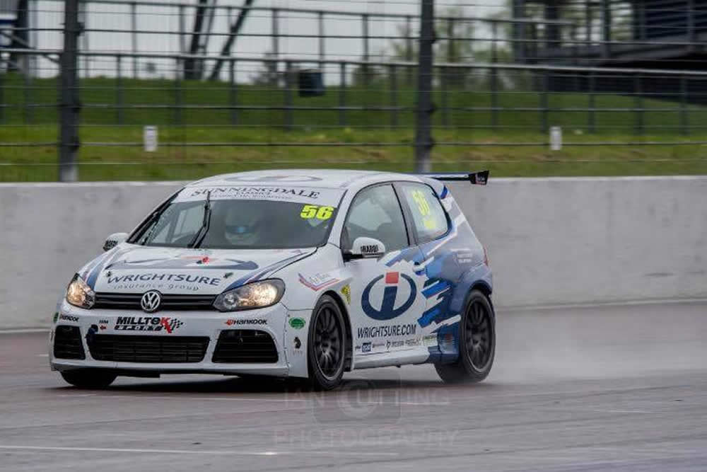 Difficult weekend for Jamie Bond at Rockingham