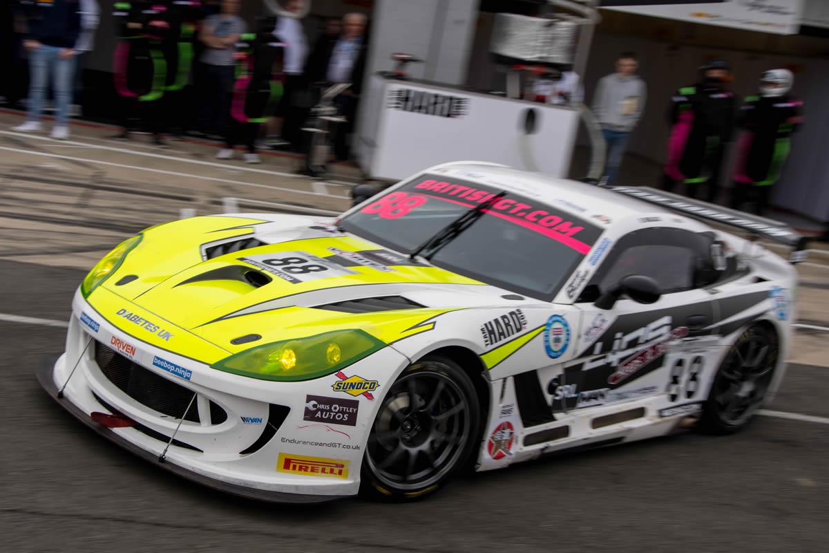 Ben Wallace Silverstone British GT