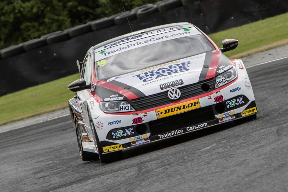 'Hardest drive ever' sees Thompson end opening half of BTCC 2018 on a high.