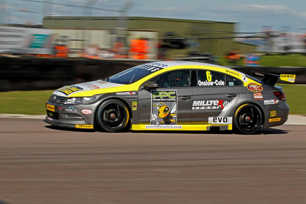 Onslow-Cole set for BTCC return with Team HARD.
