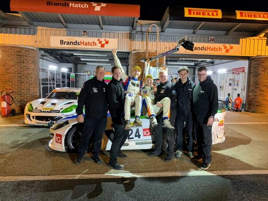 Tom Barley and Simon Rudd claim the class 3 Britcar Endurance title