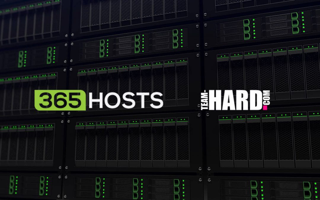 Team HARD. Racing's Online Platform in Safe Hands with 365Hosts