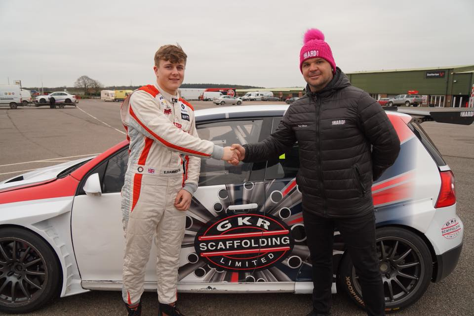 Team HARD. Racing with GKR Scaffolding Scholarship Returns for 2019.