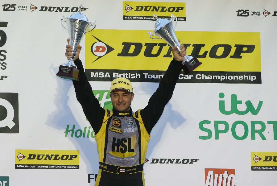 Goff Makes Sensational BTCC Return with Team HARD. Racing