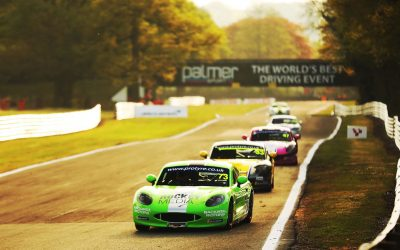 Ryder Back with Team HARD. Racing in Ginetta GT5 Challenge