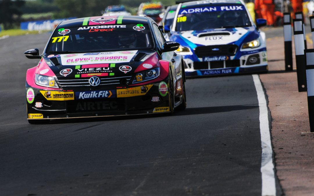 Michael Crees Serves Up Battling BTCC Display At Croft