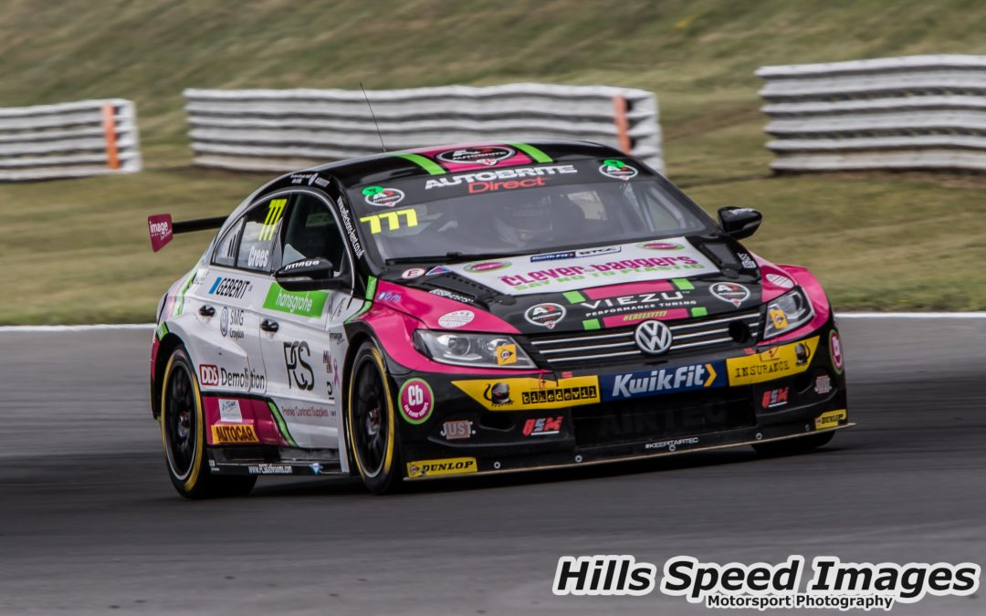 Michael Crees Shows Promise As BTCC Battle Resumes At Snetterton