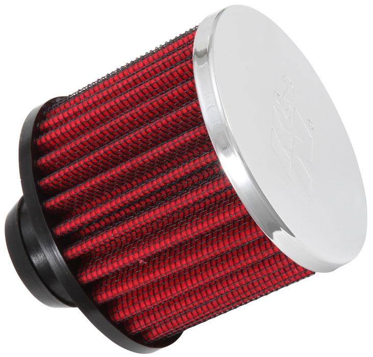 """62-1513 K/&N Vent Air Filter C//V 1-3//8/""""FL 3/""""OD 2-1//2/""""HW-D//S KN Universal Air Fil"""