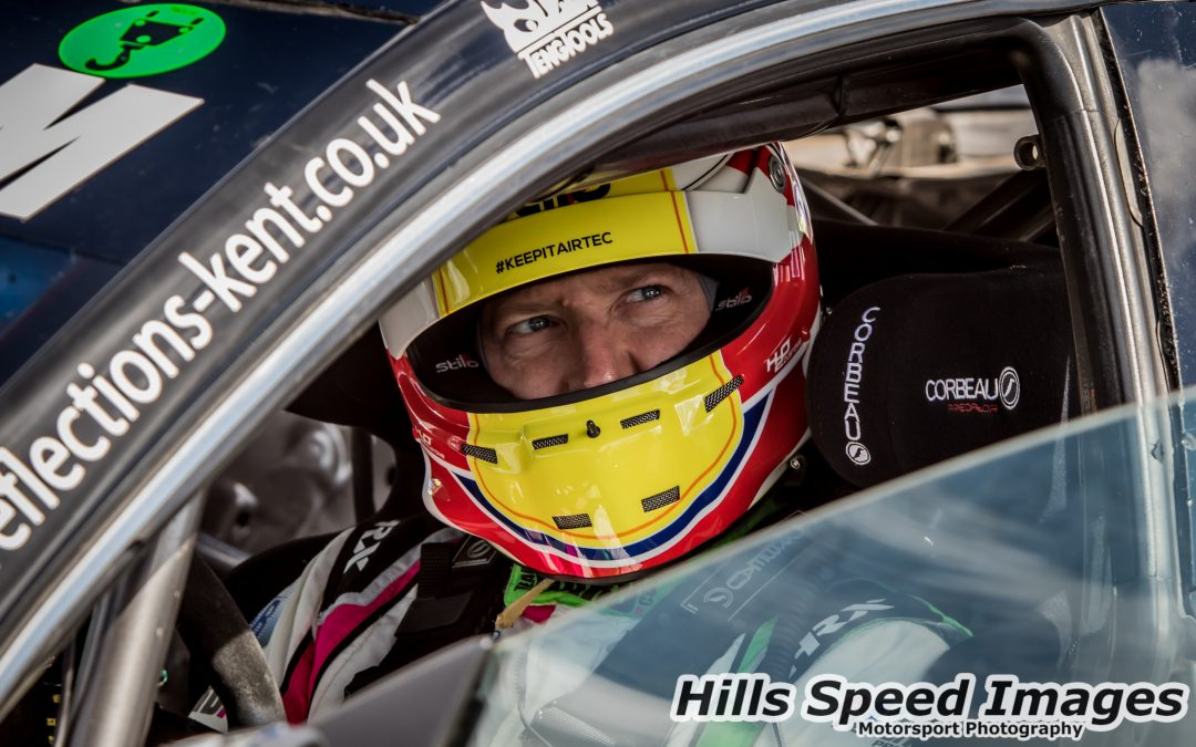 Boardley Re-joins Team HARD. Racing with BMW Charger