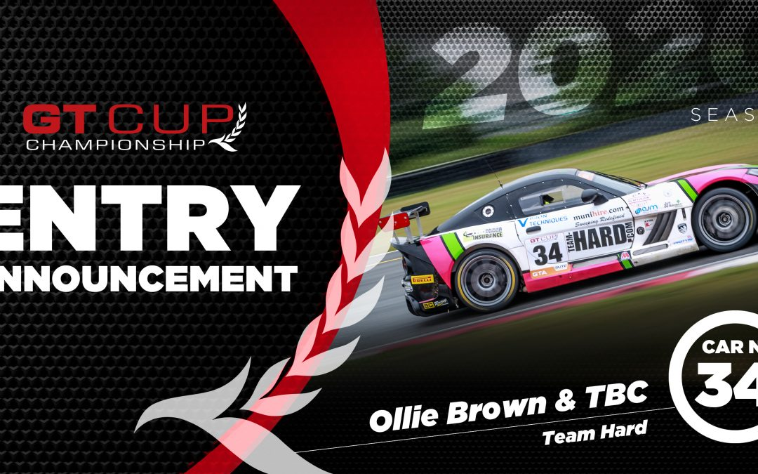 Team HARD. Racing adds to GT Cup Line-up with Scholarship Winner