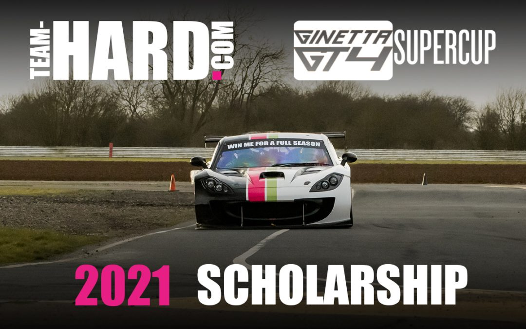 Team HARD. Racing Scholarship 2021 – Entries Now Open!