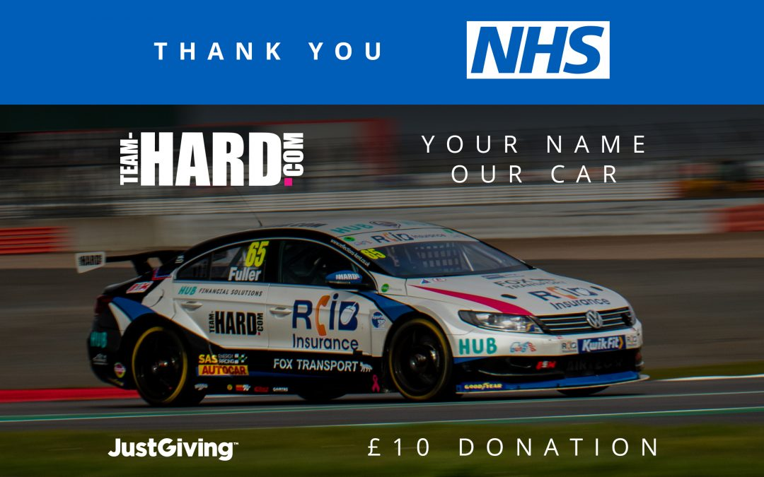 Team HARD. Racing Launches 'Your Name, Our Car' Fundraising Campaign