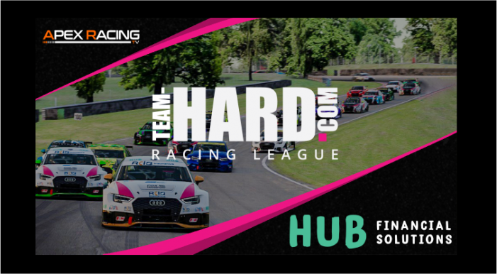 Team HARD. Racing eSports League with Hub Financial to be Broadcast Live!