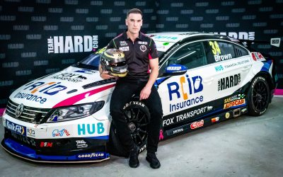 Team HARD. take gamble with scholarship winner Brown for 2020 BTCC campaign