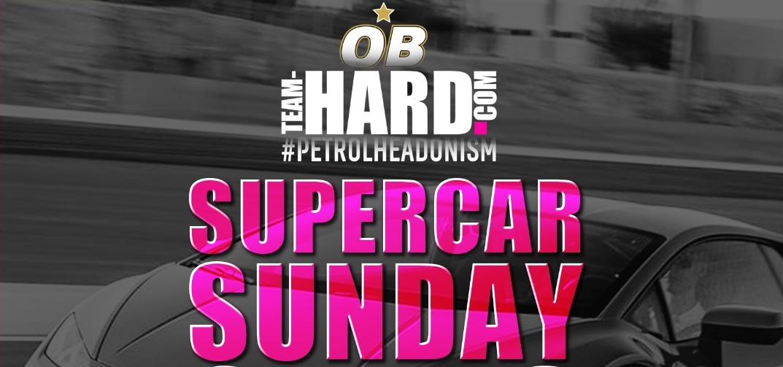 Supercar meet-up at Team HARD. Racing HQ