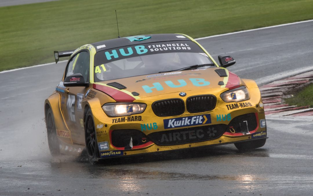 BTCC – Oulton park: HUB Financial Solutions with Team HARD. Round Up