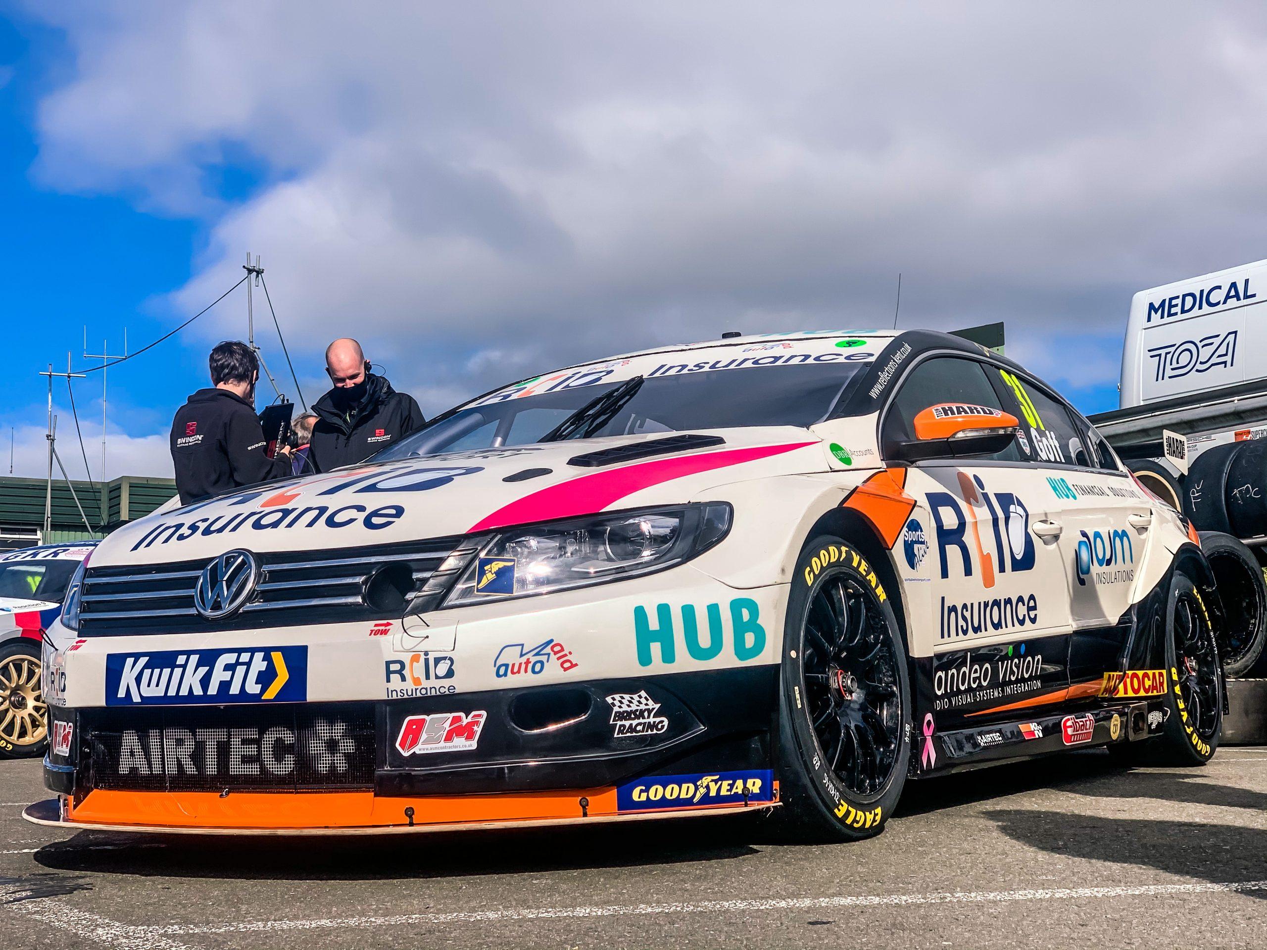 BTCC 2020: Brand Advertisement Brands Hatch | Team HARD Racing