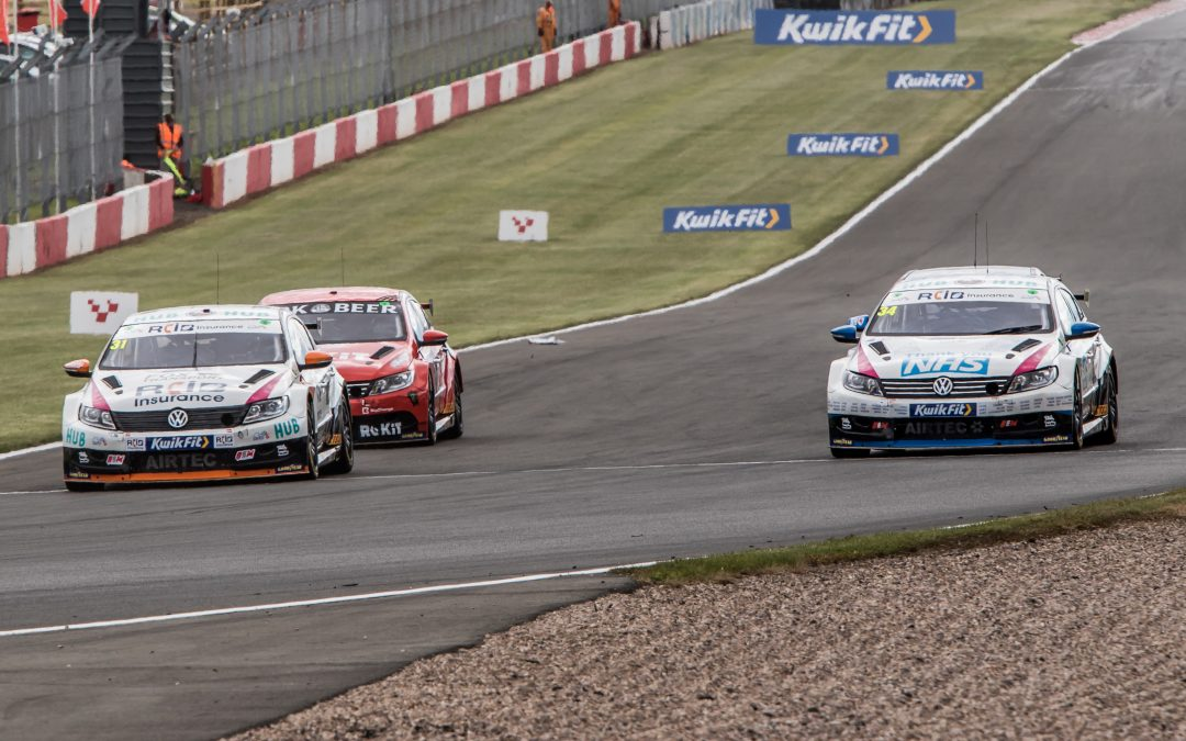 BTCC – Donington Park: RCiB Insurance with Fox Transport Round Up