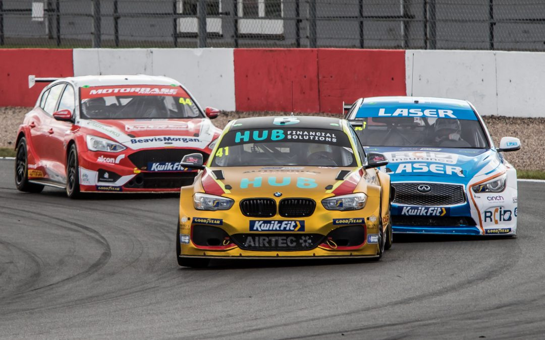 BTCC – Donington Park: Hub Financial Solutions with Team HARD. Round Up