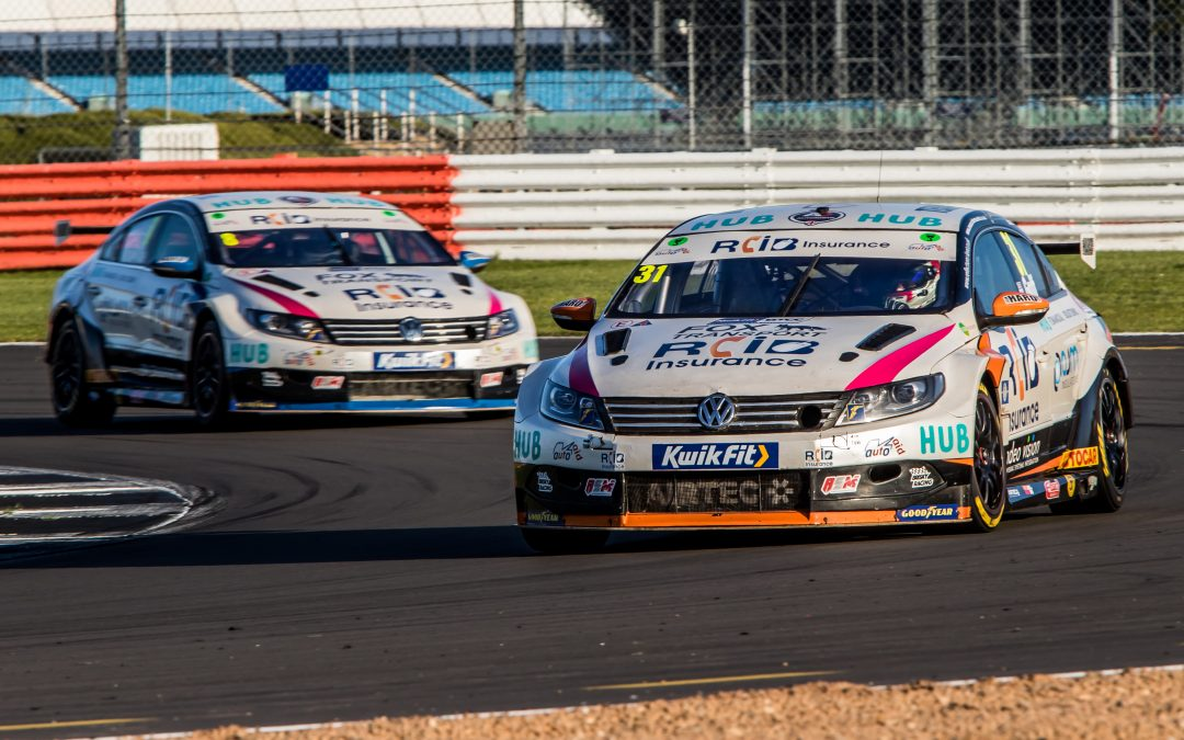 BTCC – Silverstone: RCiB Insurance with Fox Transport Round Up