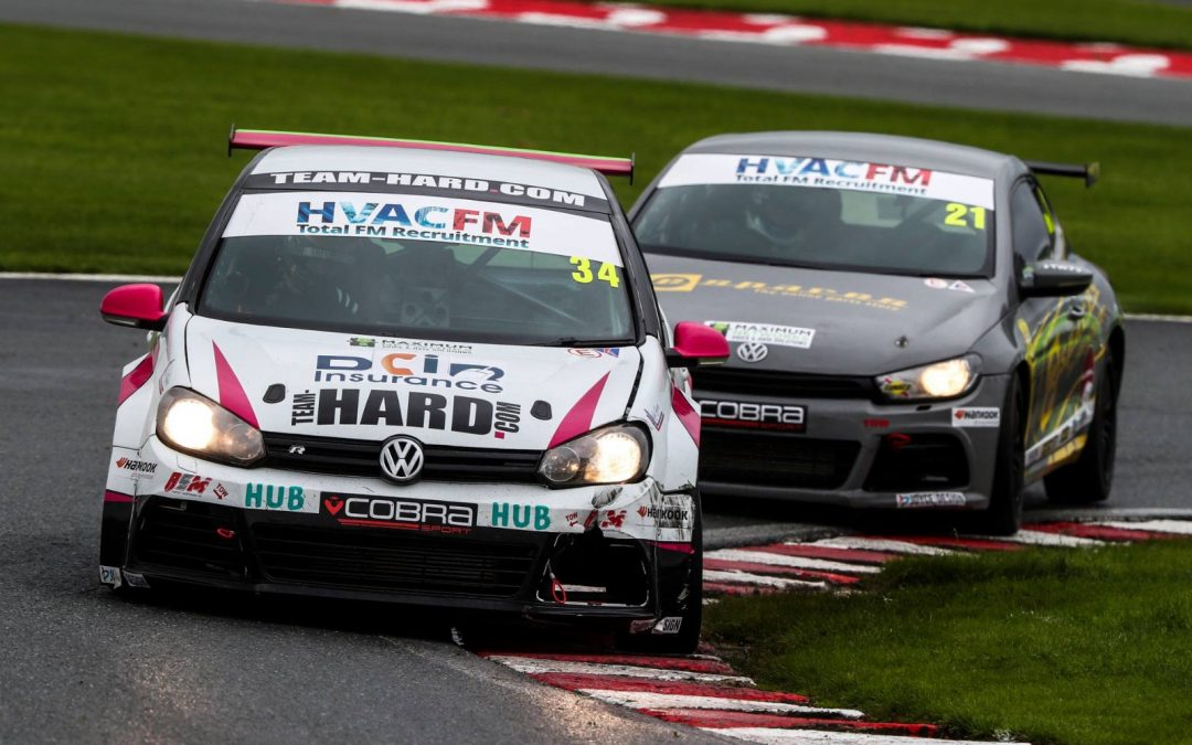 Two-Pronged Attack in the VW Cup for Team HARD. Racing
