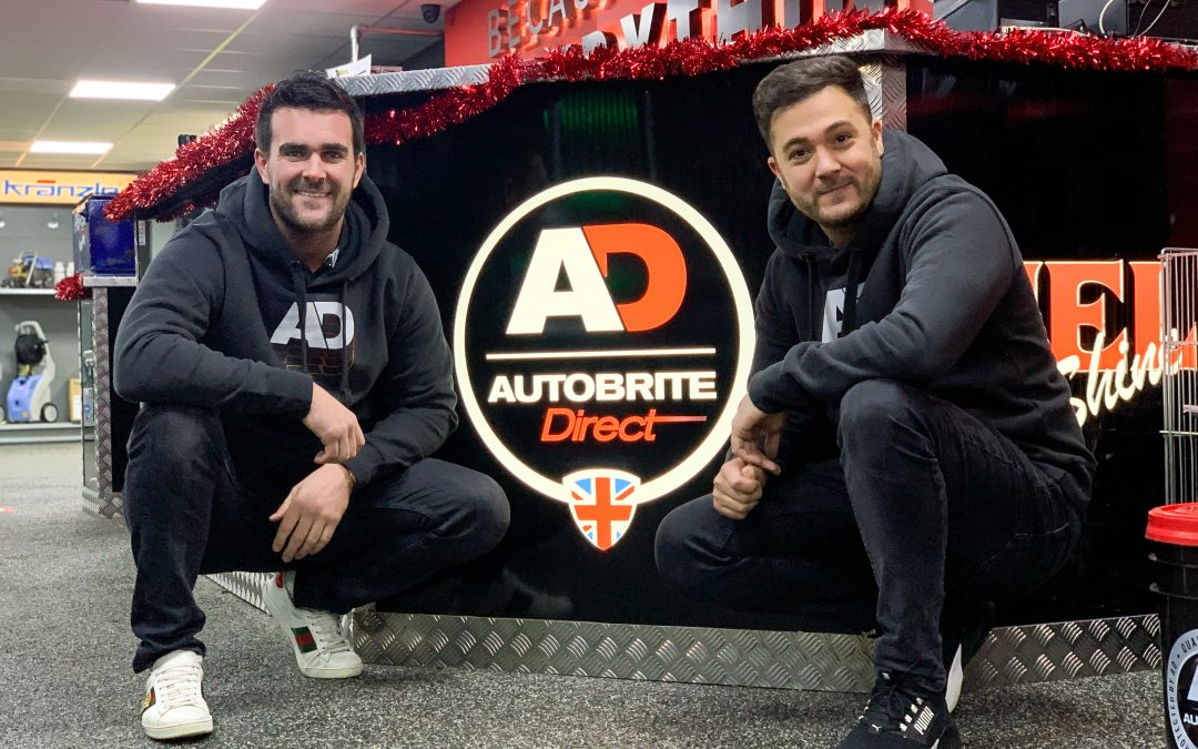 Title spot for Autobrite Direct with Team HARD. Racing