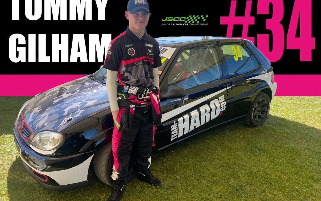 Tommy Gilham announced for Team HARD. Racing 2021 JSCC campaign