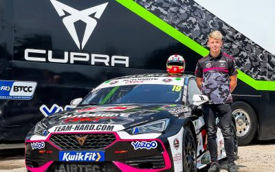 GT Champion Mitchell Secures Vacant BTCC Seat at Team HARD. Racing
